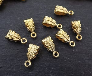 etsy, spacer, and gold bead image