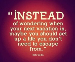quote, life, and vacation image
