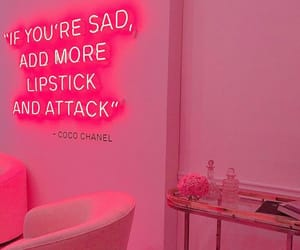 pink, aesthetic, and neon image