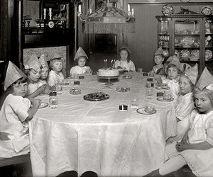 birthday, vintage, and black and white image
