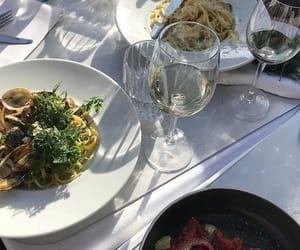 food, wine, and yummy image