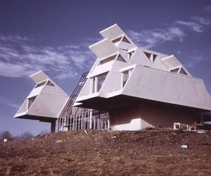 1960s, architecture, and architektur image