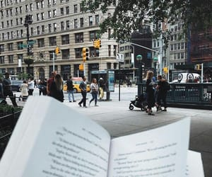 aesthetic, book, and new york image