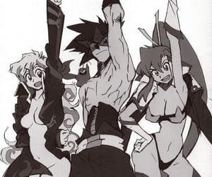 gurren lagann and simon x nia image