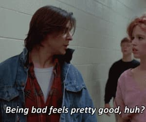 The Breakfast Club, bad, and quotes image