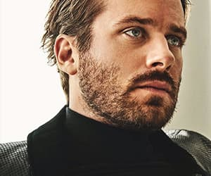 handsome, armie hammer, and Hot image