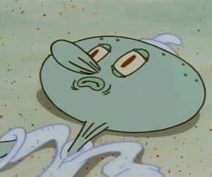 spongebob, meme, and squidward image