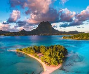 nature, landscape, and Island image
