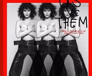 cover, fashion, and model image