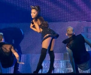 blue vibes, ariana grande, and honeymoontour image