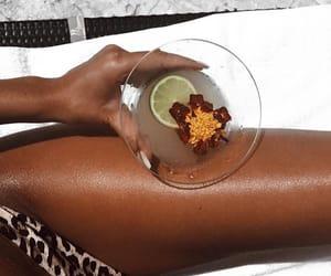 aesthetic, bikini, and food image
