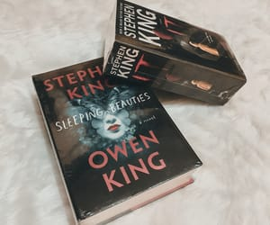 author, Stephen King, and book image