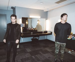 bands, panic! at the disco, and twenty one pilots image