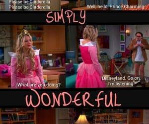 big bang theory, cinderella, and disney image