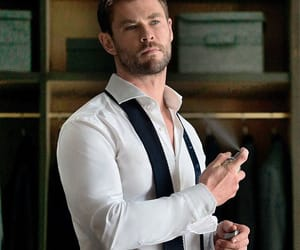 chris hemsworth and handsome image