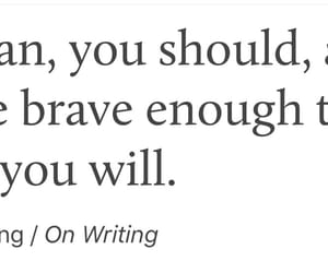 life, quote, and bravery image