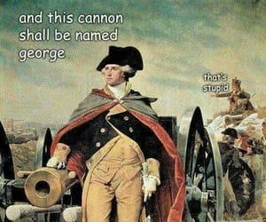 comedy, funny, and George Washington image