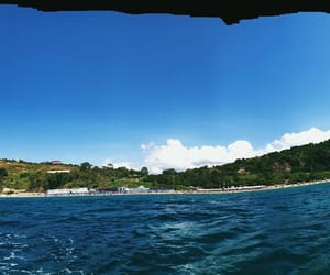 blue, clouds, and italia image