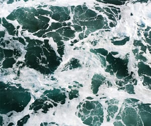 waves, beach, and ocean image