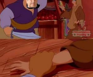 aladdin, disney, and humor image
