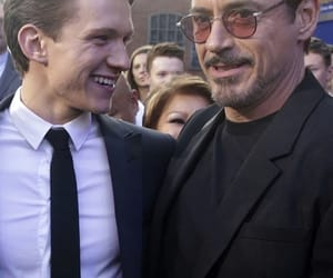 celebrity, iron man, and Marvel image