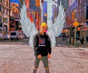angel, Angel Wings, and daniel image