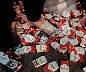 cigarette, aesthetic, and grunge image