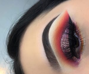 aesthetic, alternative, and eye shadow image
