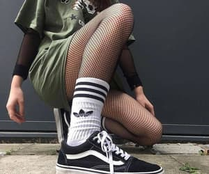 adidas, army, and sneakers image