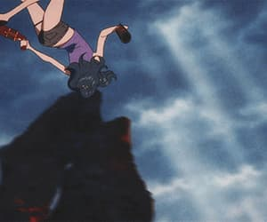 anime, fight, and gif image