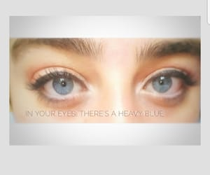 blue, eyebrows, and eyes image
