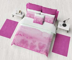 etsy, dorm decor, and pink and white image