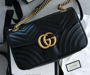 bag, black, and classy image