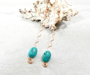etsy, handmade jewelry, and hippie earrings image