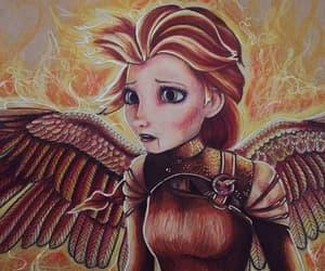katniss, los juegos del hambre, and sinsajo image