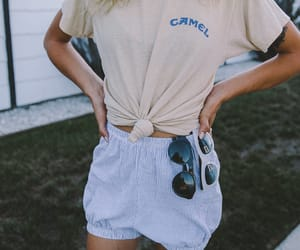 camel, girl, and outfit image