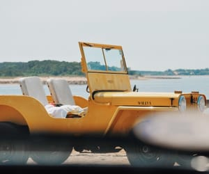 aesthetic, beach, and car image
