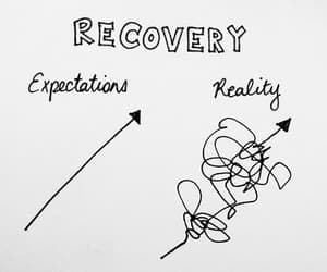 recovery, reality, and quotes image