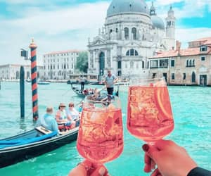 drinks, cheers, and italy image