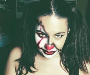 clown, makeup, and mask image