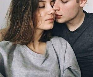 boy, couple, and kiss image