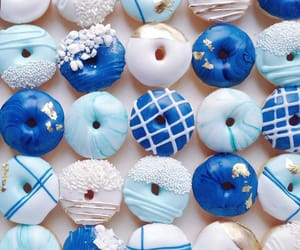 blue, food, and yummy image