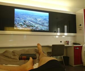 chill, hard work, and hotel image