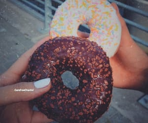 carefree, donuts, and doughnut image