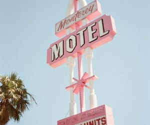 aesthetic, motel, and retro image