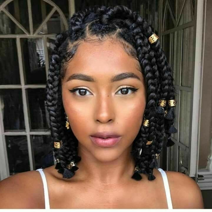 Short Box Braids Uploaded By Mickeylou On We Heart It