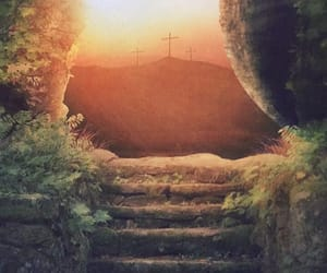 healing, jesus, and he is risen image