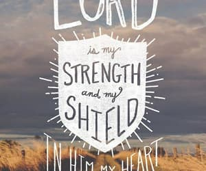 bible, strength, and psalms image