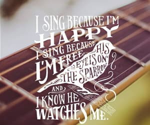 christian, passion, and sing image