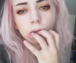 color hair, emo, and alternative girl image
